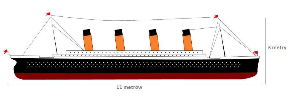 Największego na świecie Titanica składającego się z 500.000 klocków