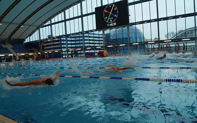 Duża popularność basenów Aqua Lublin | fot. Dominik Wąsik