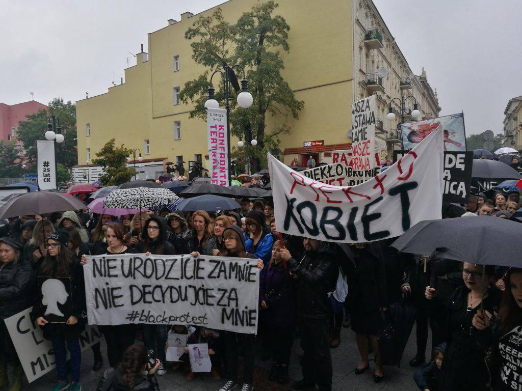 czarny protest lublin