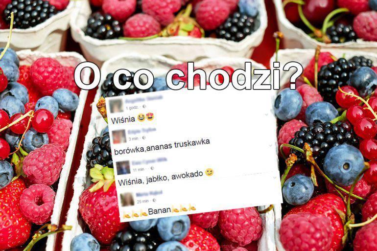 owoce-na-facebook-nazwy-owocow-jablko-ananas-banan-awokado
