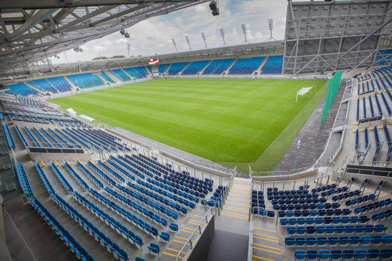Stadion Arena Lublin w Lublinie UEFA EURO U21
