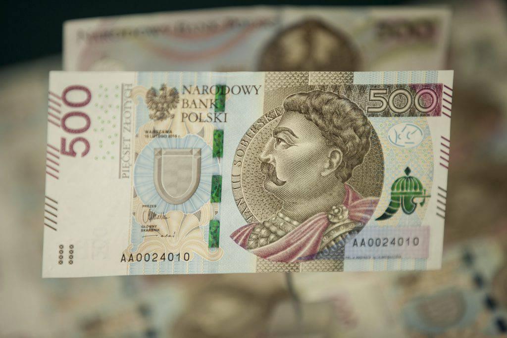 NBP 500 złotych banknot