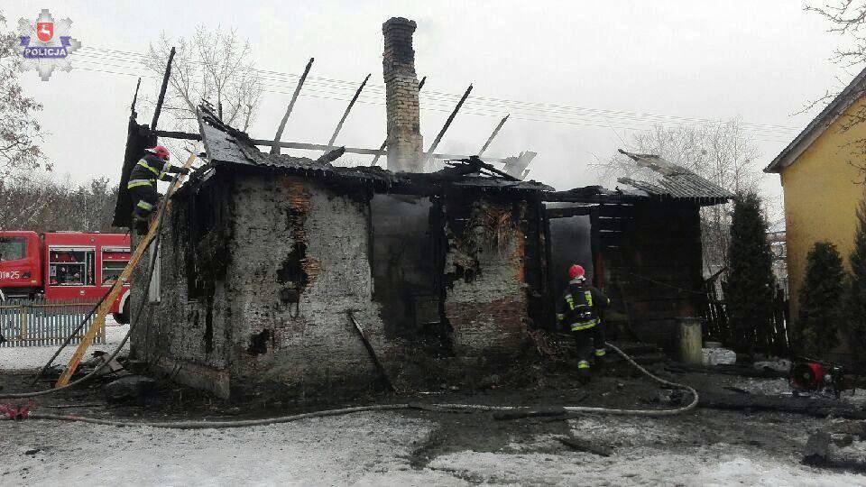 Pogonów pożar domu