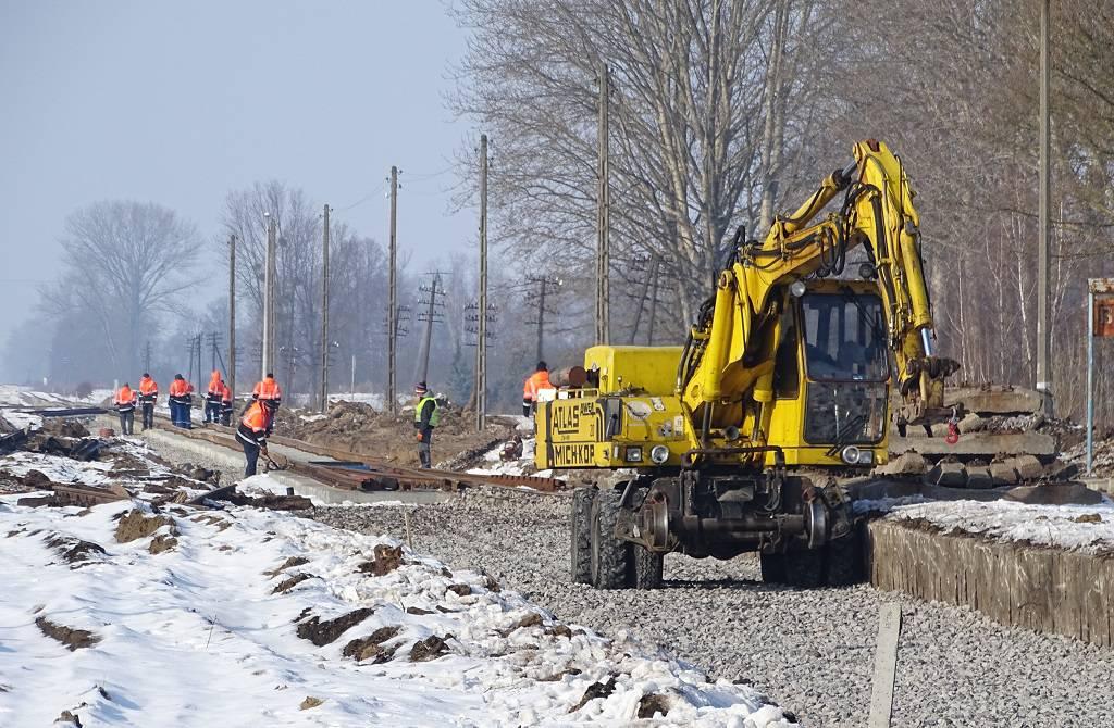 Łuków - Lublin – remont linii na ostatniej prostej