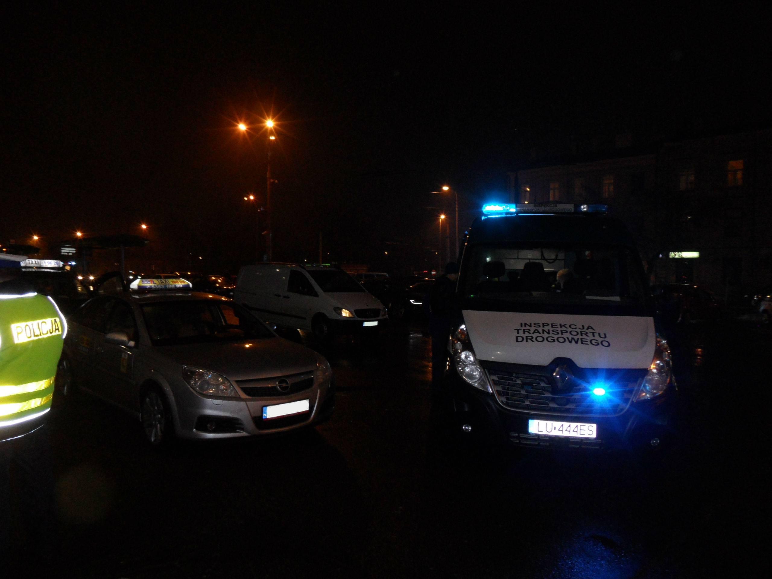 Kontrola taksówek TAXI w Lublinie