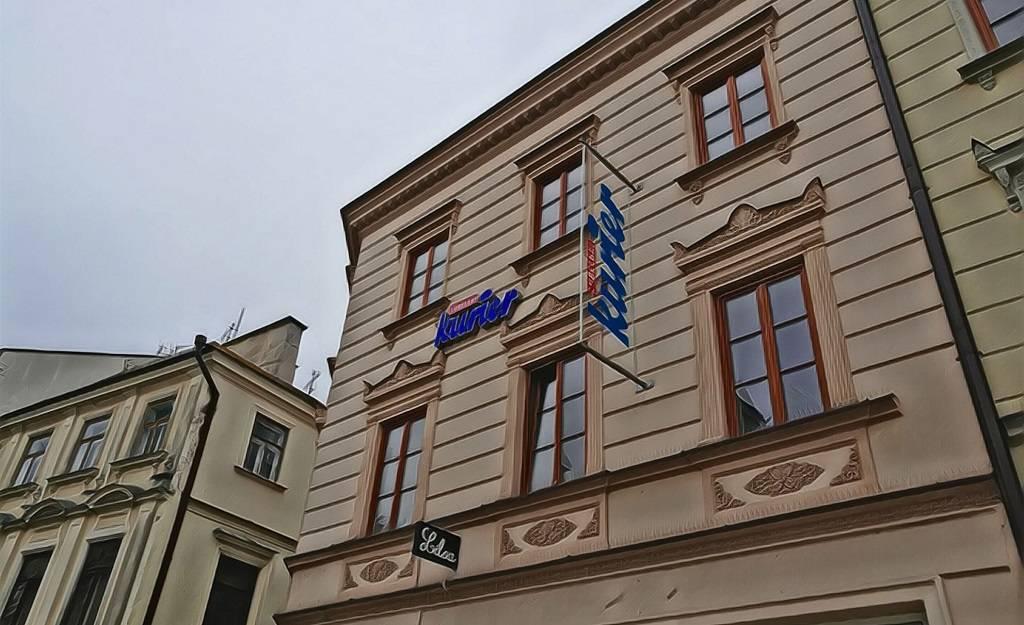Siedziba Kuriera Lubelskiego przy Krakowskim Przedmieściu w Lublinie