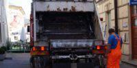 śmieciarka śmieci wywóz odpady