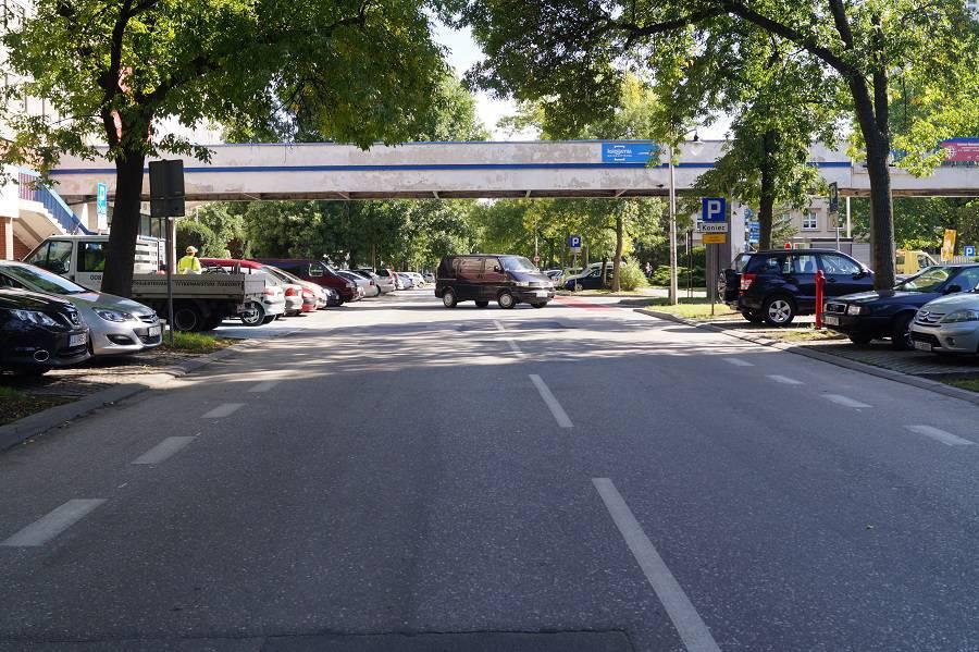 Kładka nad ul. Radziszewskiego Lublin