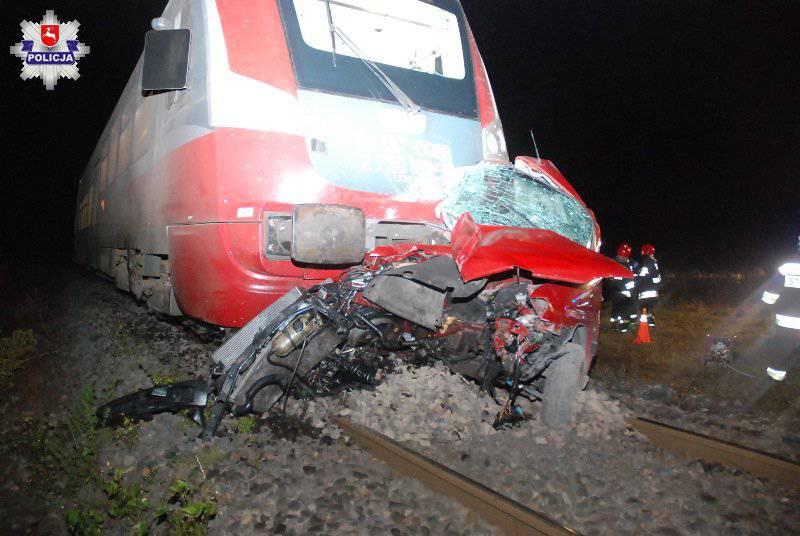 Wypadek kolejowy w Niedrzwicy Kościelnej