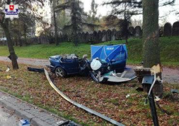 Wypadek na al. Andersa w Lublinie