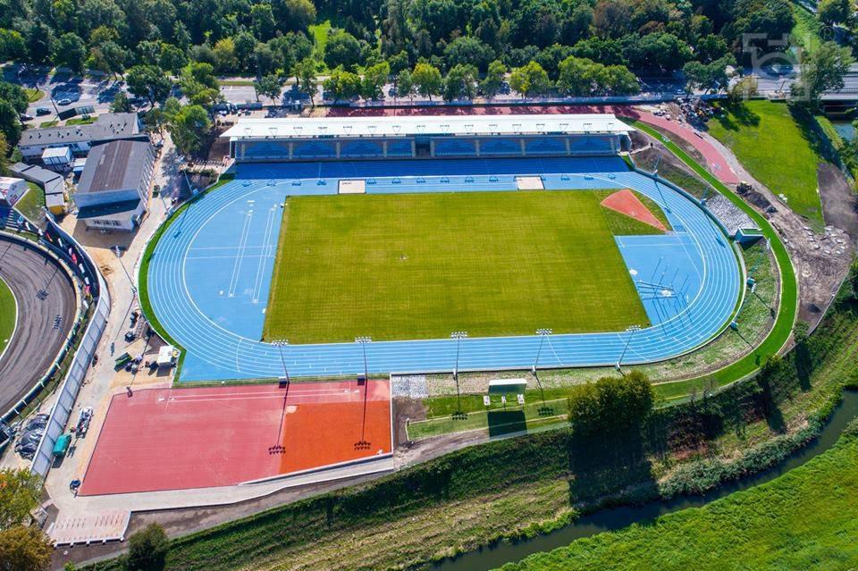Stadion Lekkoatletyczny przy ul. Piłsudskiego 22 w Lublinie