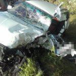 Kierowca BMW wyprzedzał na podwójnej ciągłej | fot. KPP Puławy