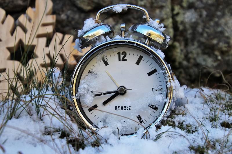 zegarek czas zmiana