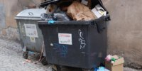odpady śmieci kosz