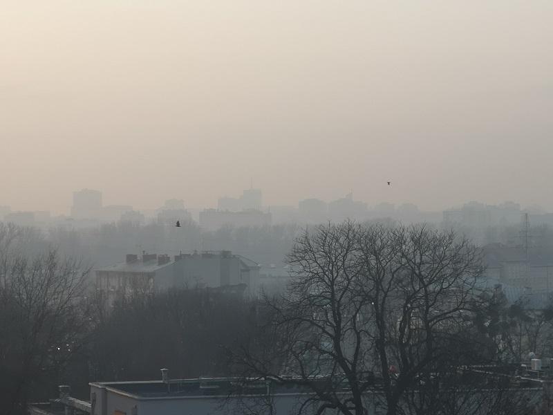 smog jakość powietrza lublin