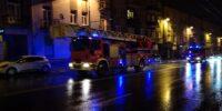 straż pożarna wóz strażacki drabina