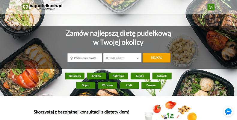 porównywarka cateringów dietetycznych napudelkach.pl