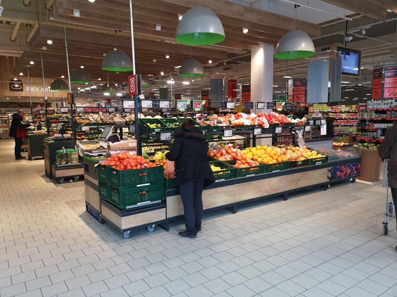 zakupy kaufland warzywa