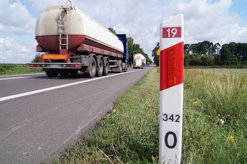 droga krajowa 19 ciężarówka DK