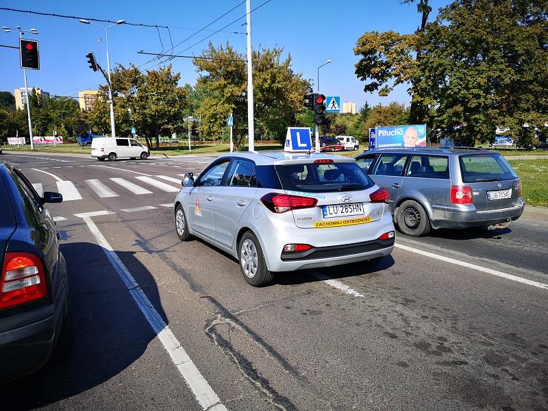 word lublin egzamin prawo jazdy samochód egzaminacyjny