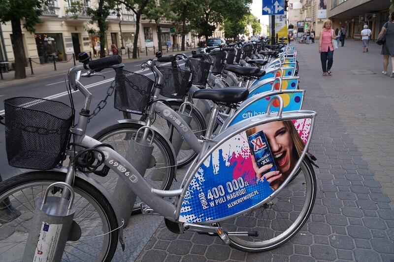 LRM lubelski rower miejski rowery miejskie nextbike