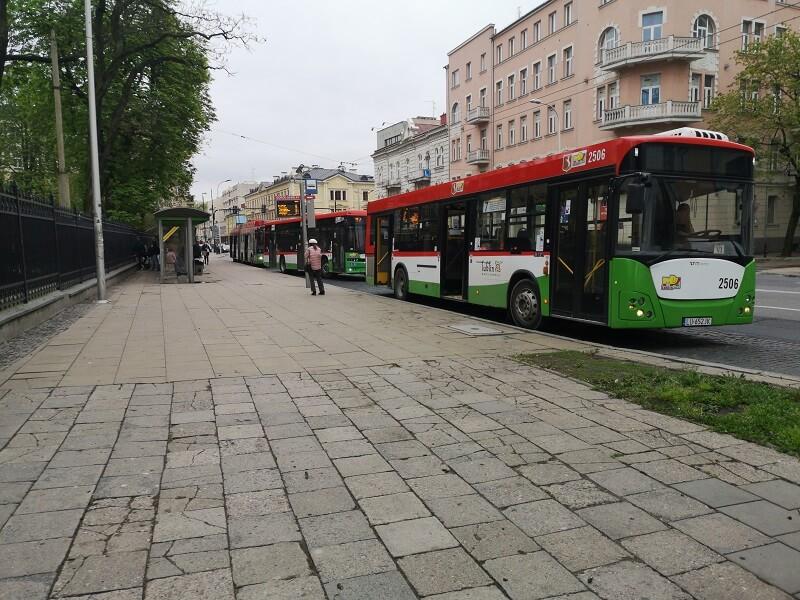 mpk ztm lublin przystanek autobusy