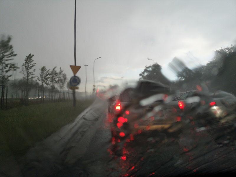 burza nawałnica deszcz pogoda
