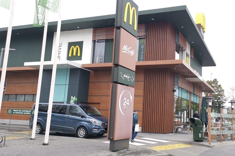 Restauracja McDonald's przy al. Spółdzielczości Pracy w Lublinie