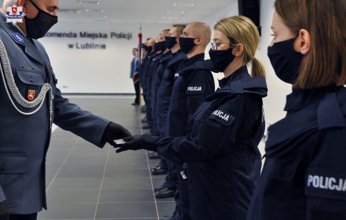 policja lublin ślubowanie nowi funkcjonariusze