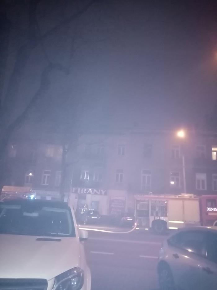 pożar mieszkania kamienica zamojska lublin