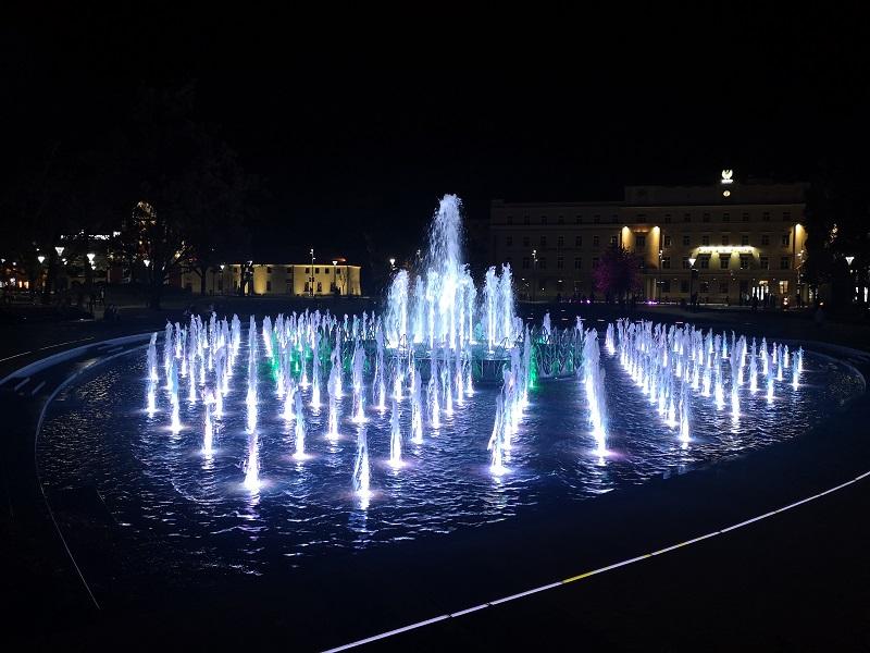 fontanna multimedialna plac litewski lublin