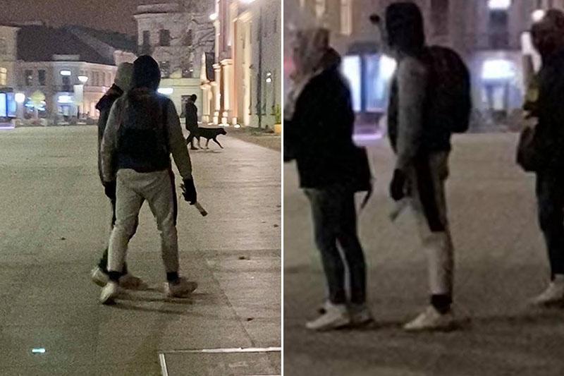 Oszust na Placu Litewskim w Lublinie udaje niewidomego