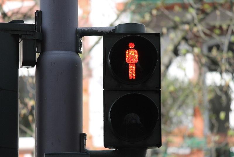 przejście dla pieszych sygnalizator