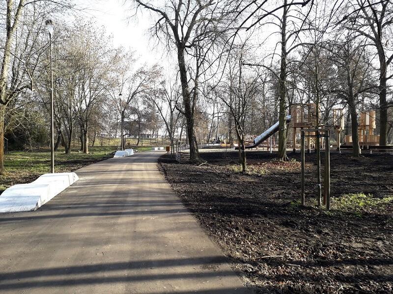 Park Ludowy otwarty po przebudowie