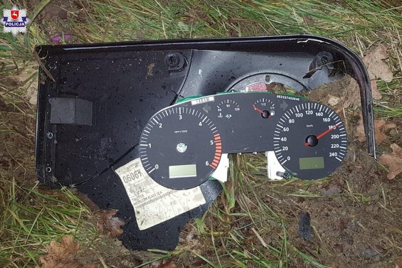Wypadek w m. Stara Dąbia. Licznik auta zatrzymał się na 180 km/h