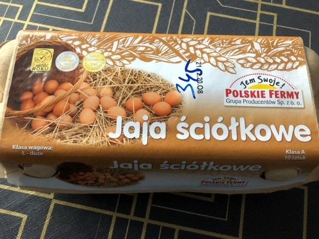 jaja ściółkowe polskie fermy stokrotka