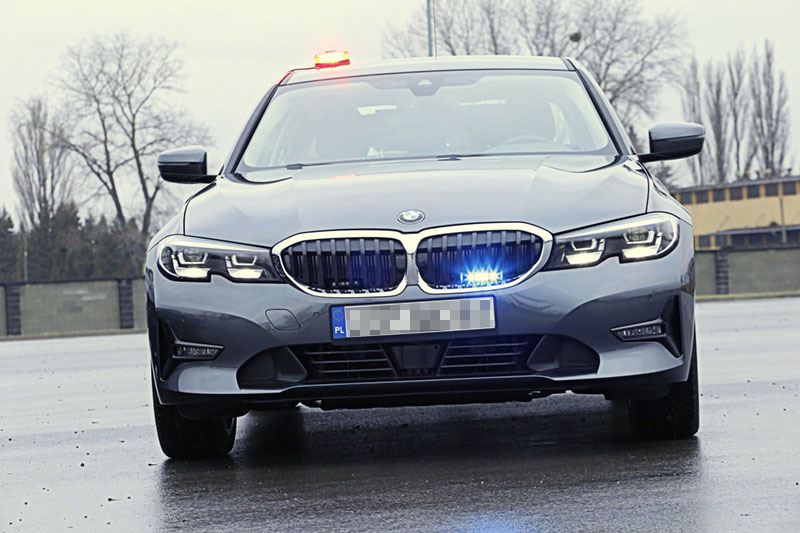 Nowe nieoznakowane radiowozy zasiliły flotę Komendy Wojewódzkiej Policji w Lublinie