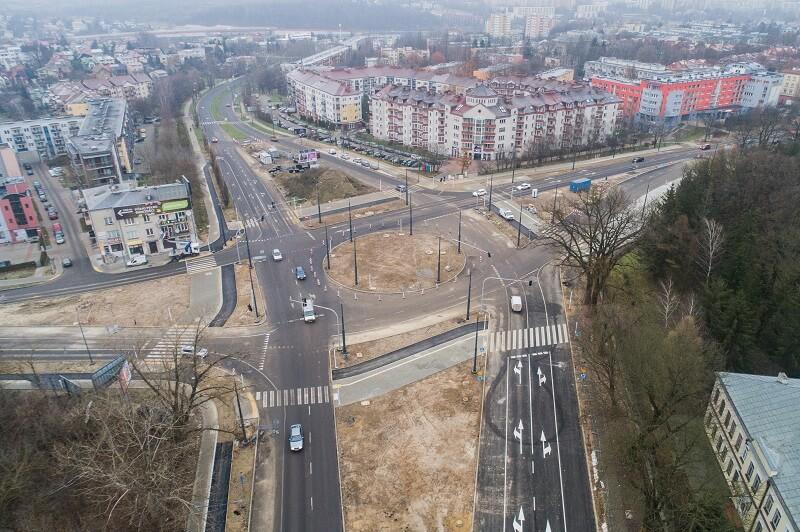 Przebudowa ronda Honorowych Krwiodawców w Lublinie