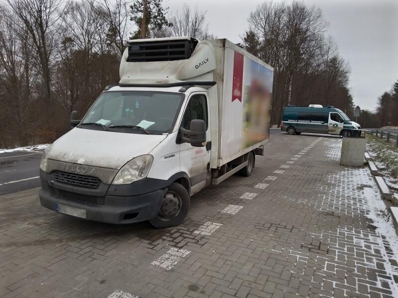 Aż pięć razy przekroczona dopuszczalna ładowność pojazdu | fot. WITD Lublin