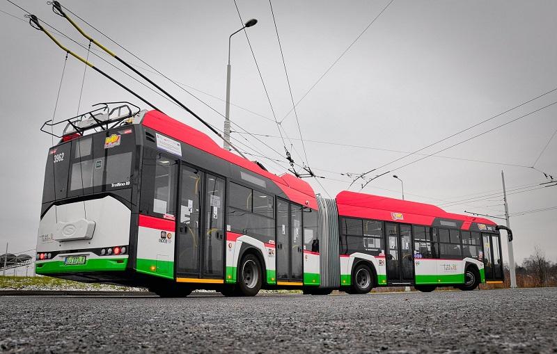Do Lublina dotarła dostawa trolejbusów marki Solaris Trollino 18M | Miasto Lublin