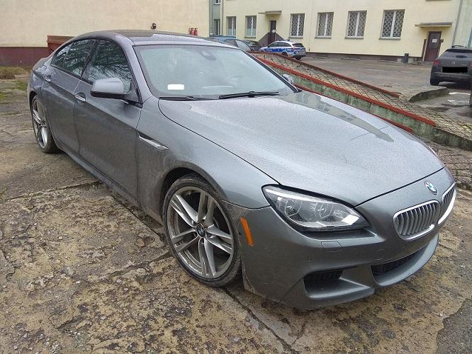 Kierowca BMW próbował uciec przed policją będąc pod wpływem marihuany | fot. KMP Biała Podlaska
