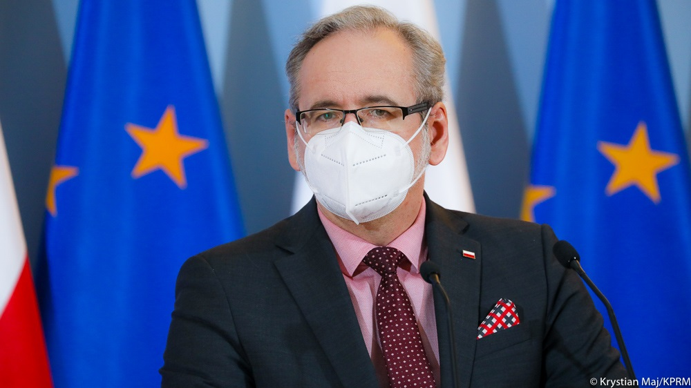 Minister zdrowia Adam Niedzielski | fot. Krystian Maj, KPRM