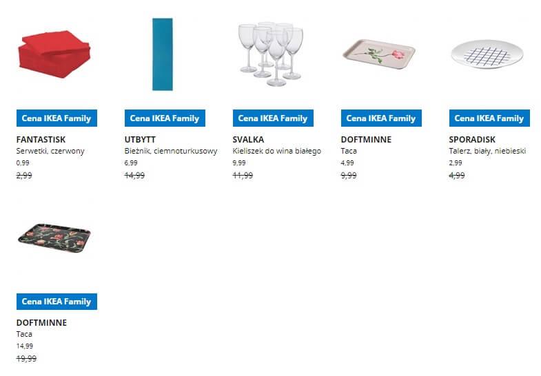 IKEA Lublin wyprzedaż produktów z kategorii Jedzenie