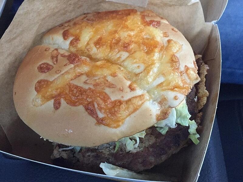 kanapka burger drwala