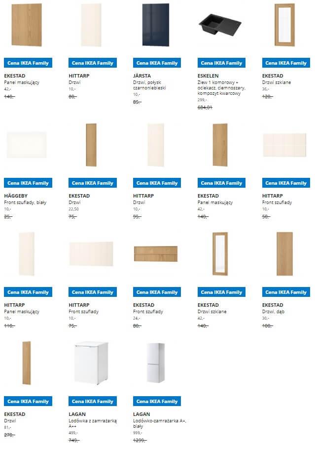 IKEA Lublin wyprzedaż produktów z kategorii Meble kuchenne