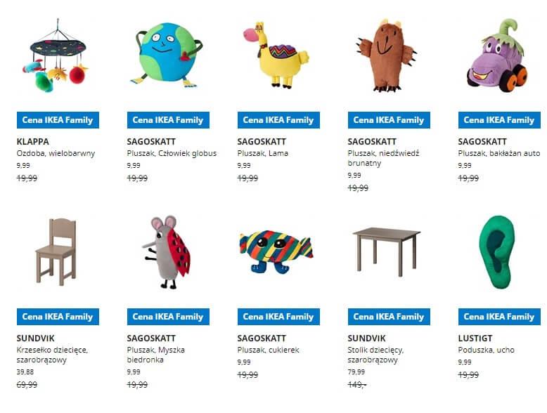 IKEA Lublin wyprzedaż produktów z kategorii Pokój dziecięcy