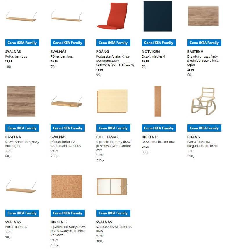 IKEA Lublin wyprzedaż produktów z kategorii Pokój dzienny