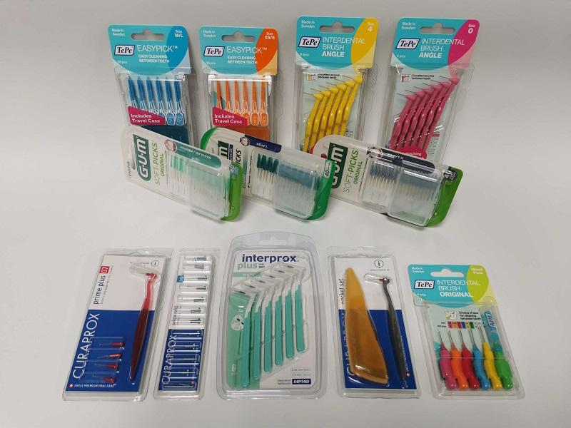 Czyściki międzyzębowe dostępne w hurtowni Mo-dentis