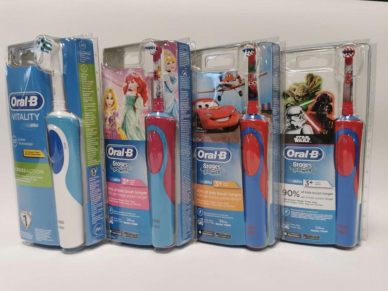 Szczoteczki do zębów dla dzieci dostępne w hurtowni Mo-dentis