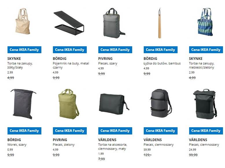 IKEA Lublin wyprzedaż produktów z kategorii Przechowywanie drobne
